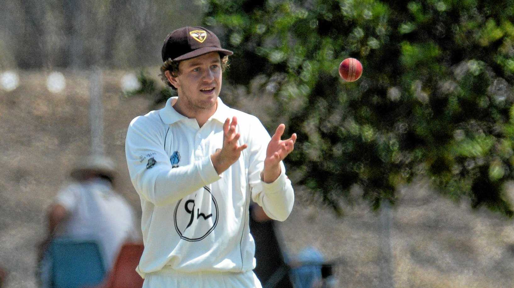 BIG SEASON AHEAD: Ipswich Hornets player Lachlan Prince is tipped to score plenty of runs this summer.