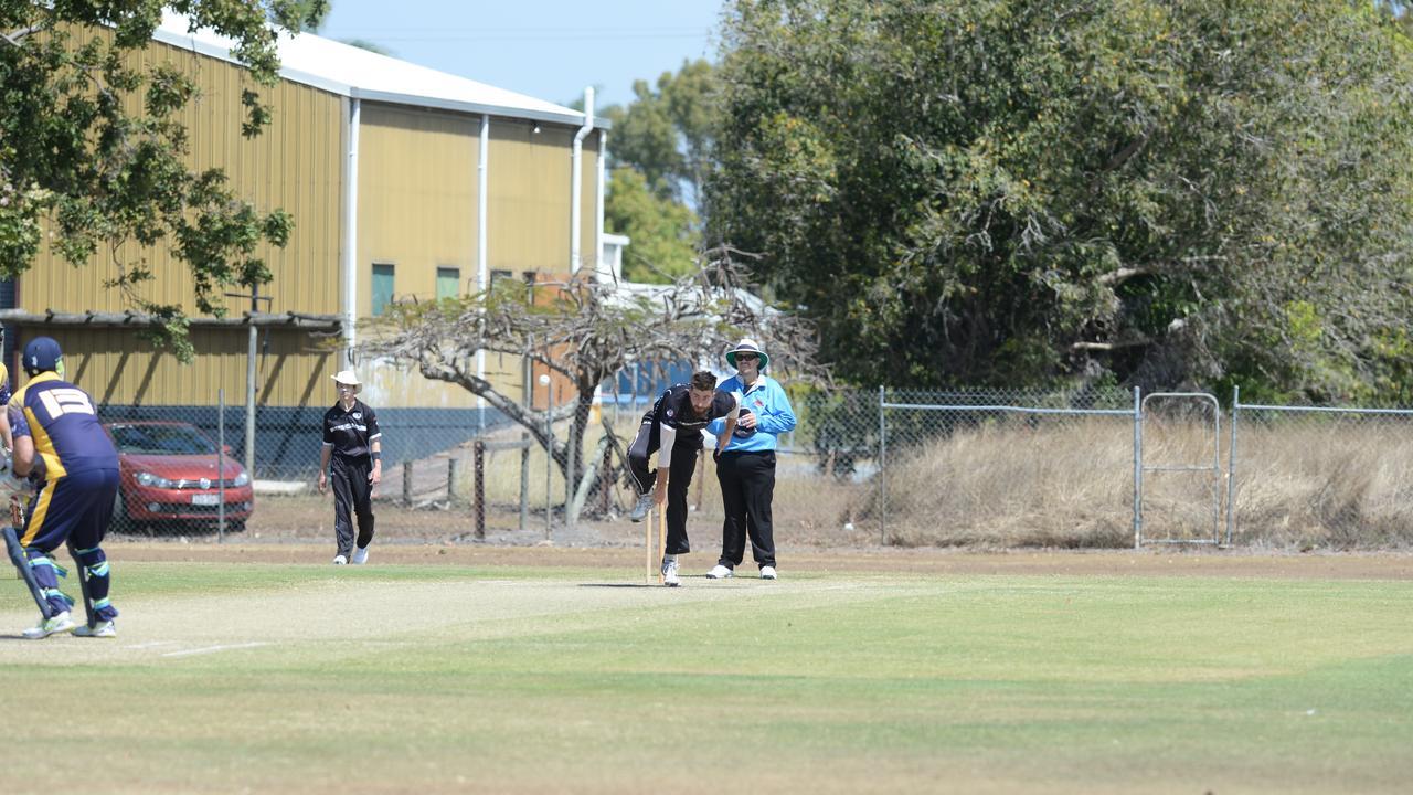 Conor Bryant bowls against Souths Sharks. Picture: Aidan Cureton.