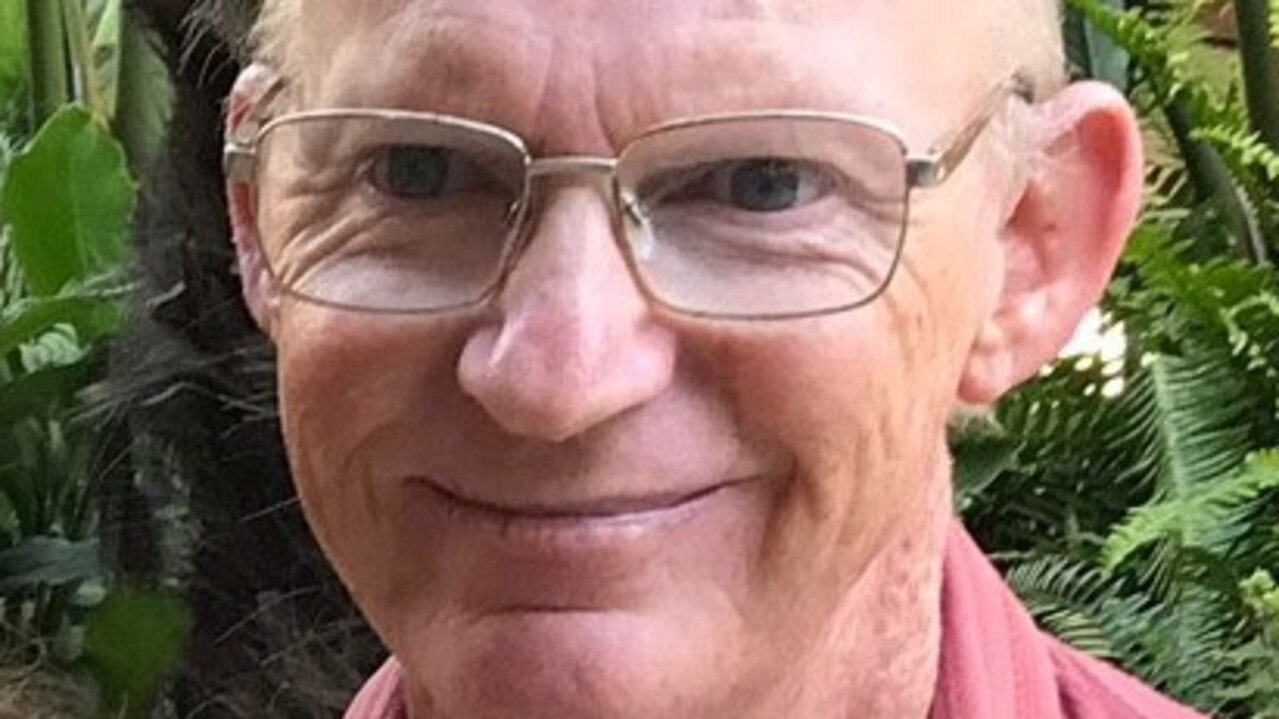 Trevor Wilson, 62, was last seen at his Katoomba Cres, Tamborine Mountain, home on Saturday.