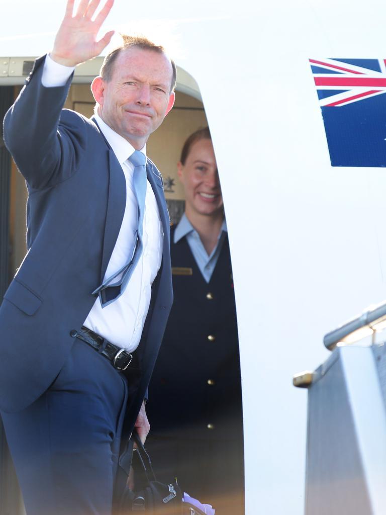 Australian Prime Minister Tony Abbott. Picture: Cameron Richardson