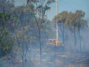 Multiple fires burning along Bruce Highway