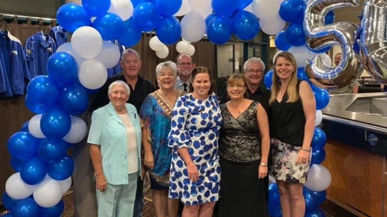 Souths Life Members help celebrate Gladstone Souths Sports Club's 50th anniversary. Pictured: Judy Aitkenhead, Wade Hughes, Adele Hughes, Dave Watts, Kim Hooley, Karen Graham, Bob Jarvis and Lisa Grady