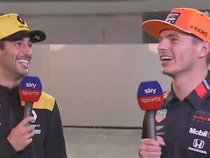 'He's a rookie': Ricciardo's savage slam