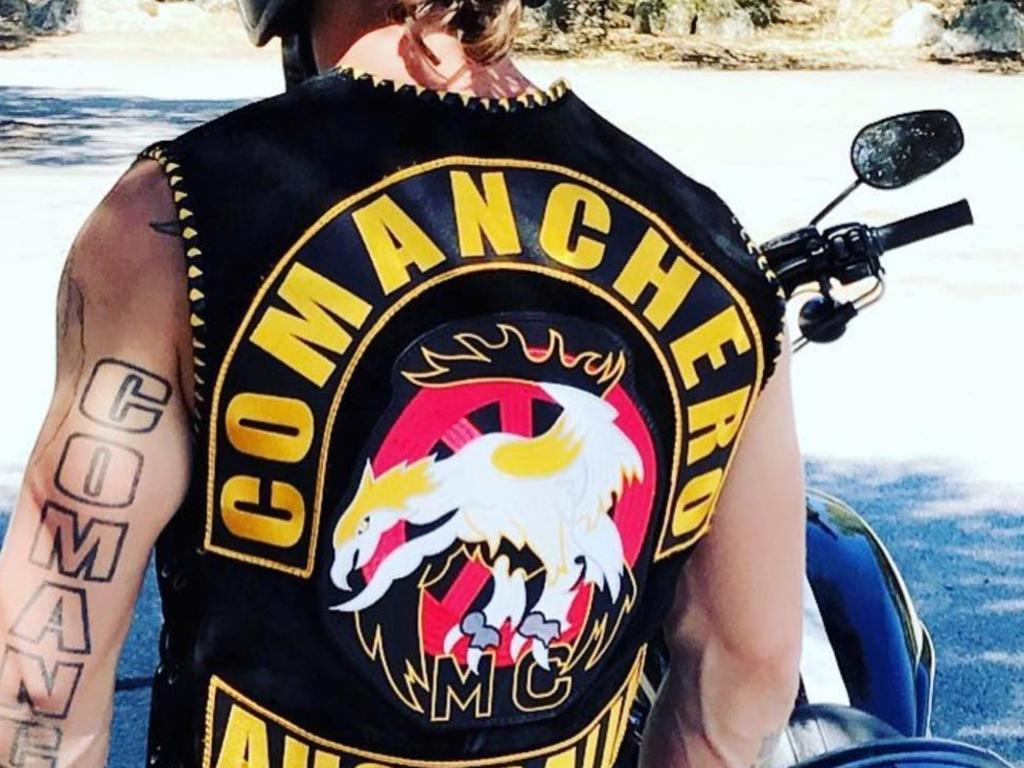 Bikies are already not allowed to drink together at pubs and will no longer be able to party on cruise boats. Picture: Instagram