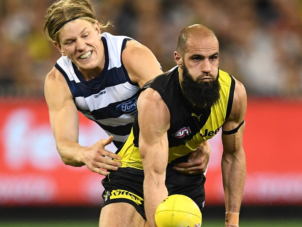 Bachar Houli starred in another final. Picture: Getty Images
