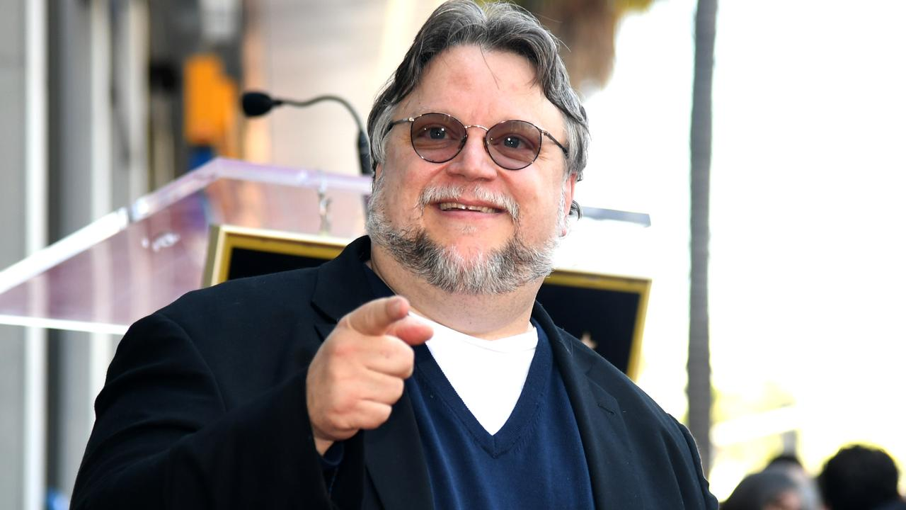 Guillermo del Toro appears at the Hollywood Walk of Fame ceremony honouring Guillermo del Toro in Hollywood last month. Picture: Kevin Winter/Getty Images