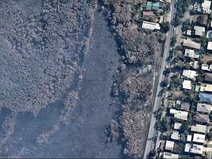 Peregian fire before and after