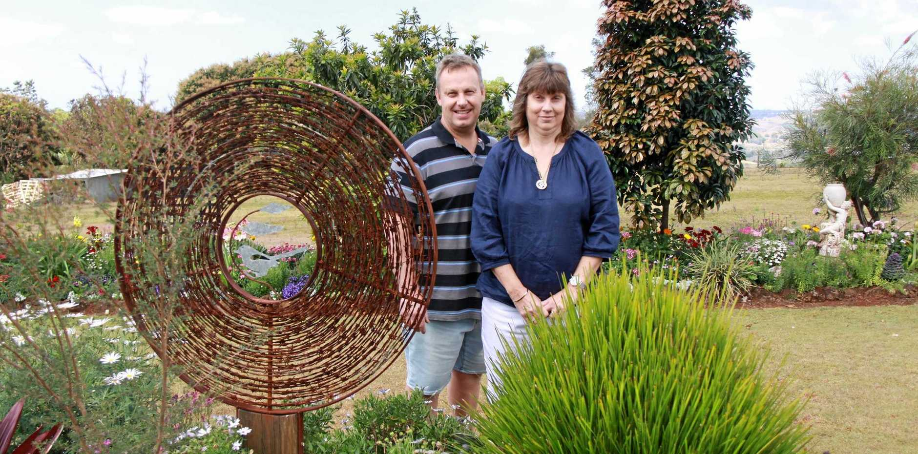 GORGEOUS GARDENS: Some of Lismore's most gorgeous gardens were winners in their Lismore Home Garden Education Club annual Spring Garden Competition. Paul and Maree Parkinson took out a number of awards including a fourth-time Champion Garden trophy.