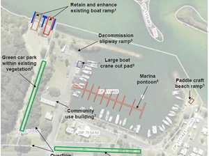 Work under way on long-waited boat harbour master plan