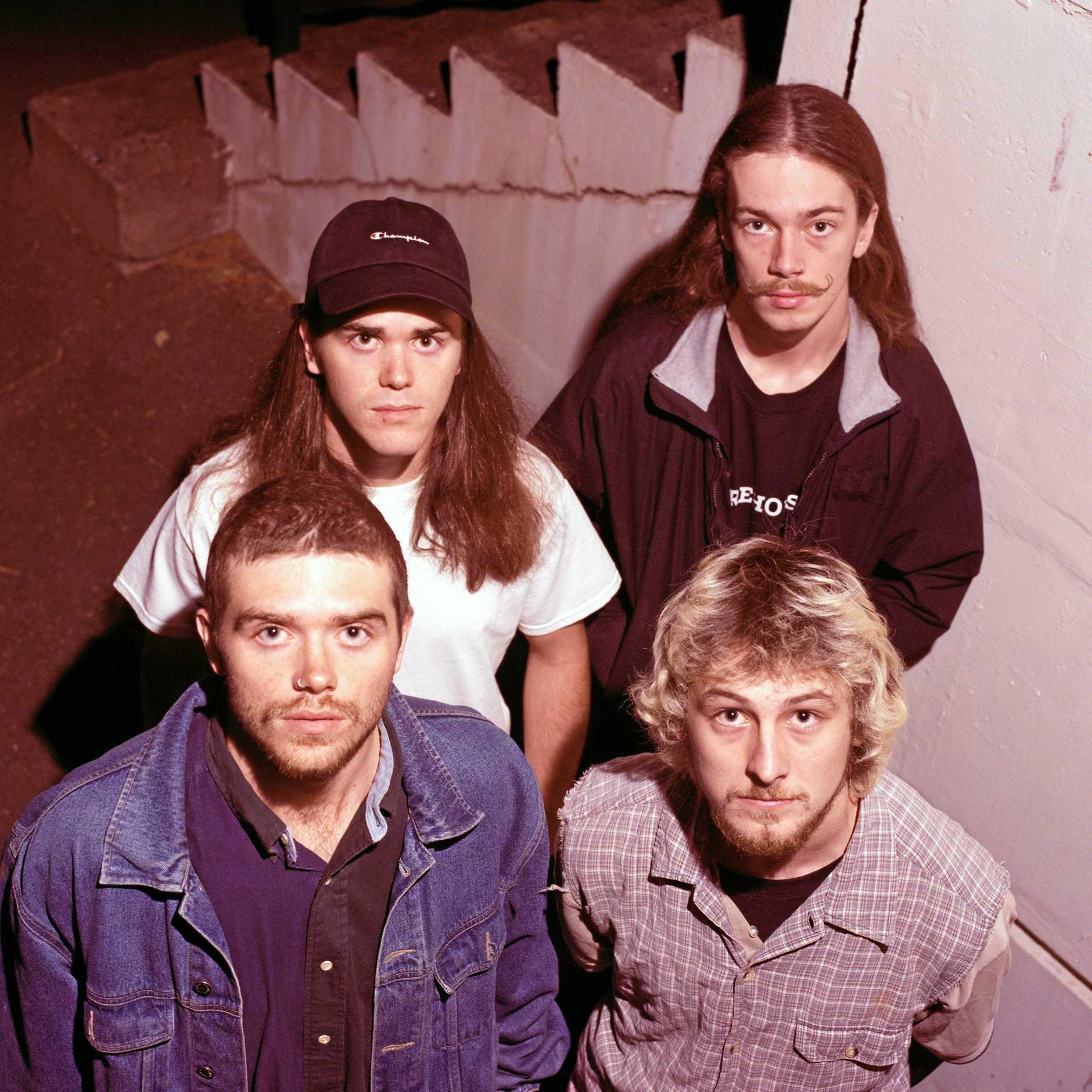 Brisbane band Concrete Surfers.