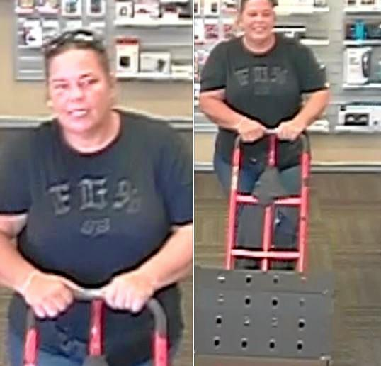 Richmond Police District are looking for this woman.