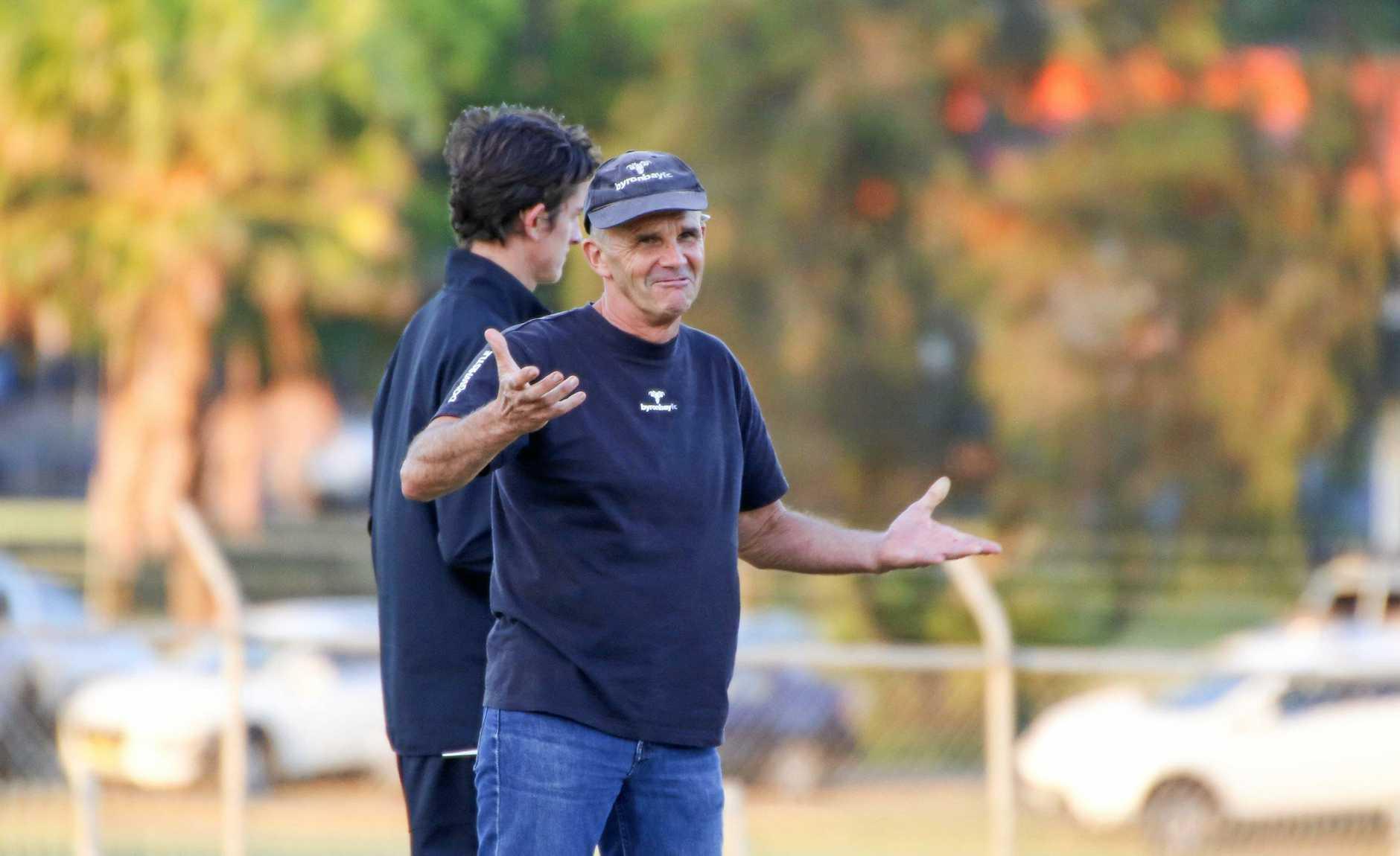FAREWELL: Cest la vie! Retiring Coach Damon Bell leaves an extraordinary legacy at Byron Bay FC.