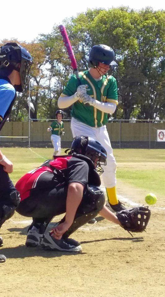 SOCIAL MEDIA IMAGE DISCUSS USE WITH YOUR EDITOR - Toby Neilen at the Softball Under 12 State Championships in Mackay 2019 representing Wide Bay.