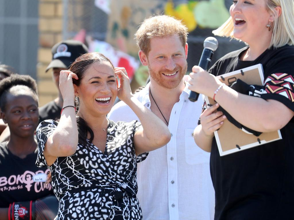 Meghan, Duchess of Sussex made a powerful first speech on her first stop on the Africa tour. Picture: Chris Jackson/Getty Images.