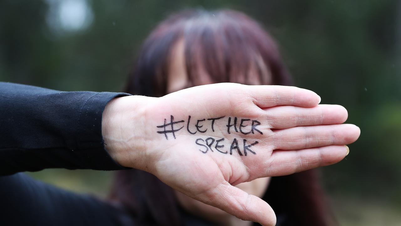 Alicia has spoken about the horrific ordeal which changed her life for the Let Her Speak campaign. Picture: NIKKI DAVIS-JONES