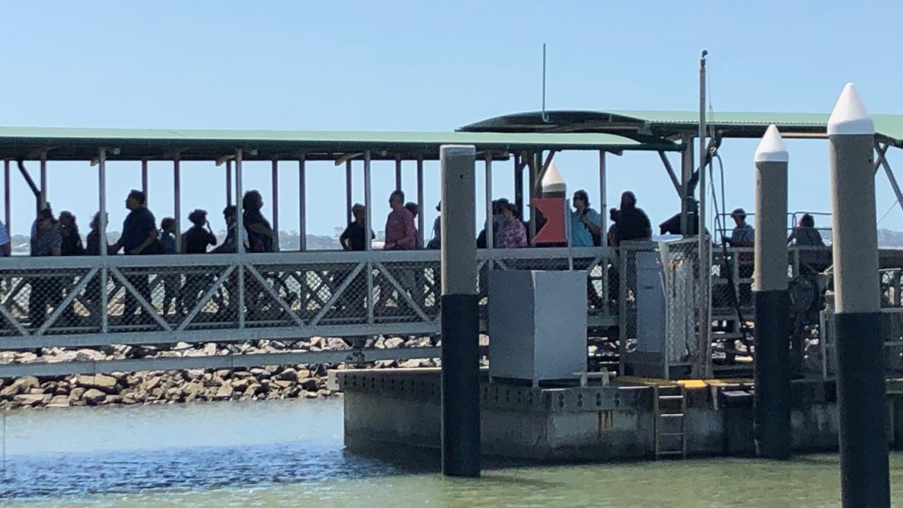 A TransLink go card is all that you need to travel between Redland Bay and the islands of southern Moreton Bay. Inter-island travel between Macleay, Russel, Lamb and Karragarra islands is free. Picture: Paula Shearer.