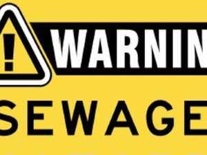 Beachgoers warned not to swim near sewage leak