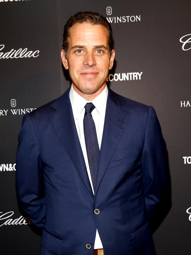Joe Biden's son, Hunter. Picture: Getty Images
