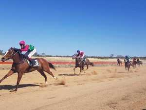 CQ jockey 'struck while the iron was hot' at Springsure Cup
