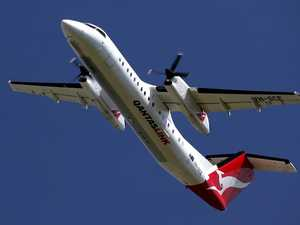 Morning Qantas flight turned back to airport over mid-air engine concern