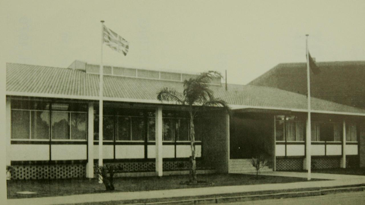 The old RSL building in 1988.