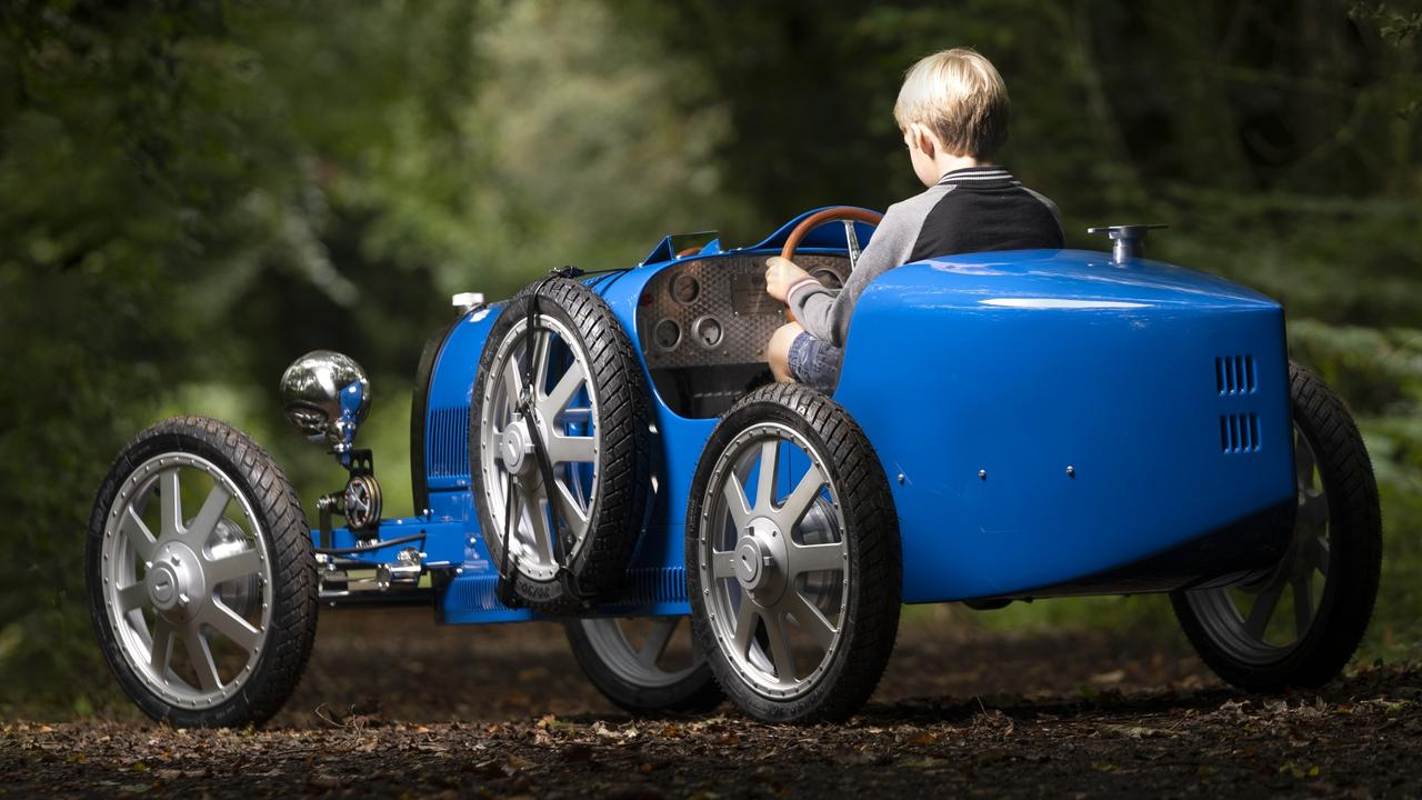 The Bugatti Baby II: child's car with an adult price tag. Picture: Supplied.