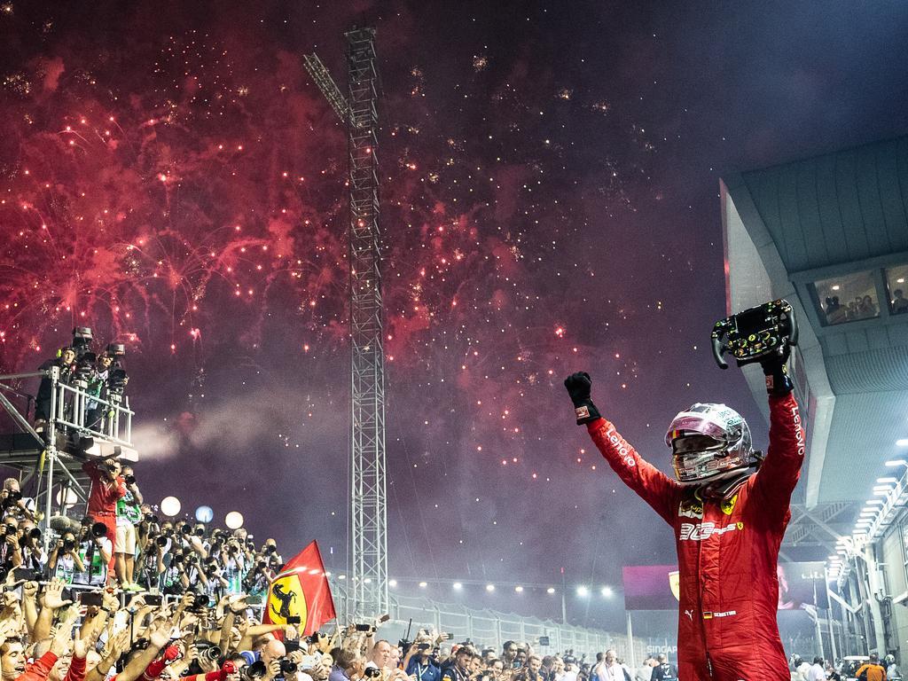Sebastian Vettel. (Photo by Lars Baron/Getty Images)