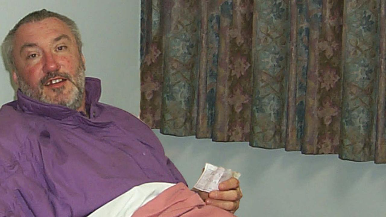 A 2002 photo of Viktor Volkov after a boat accident. Photo: John Luckhurst-Smith