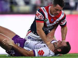 Cronk says he'd grab Smith by throat again