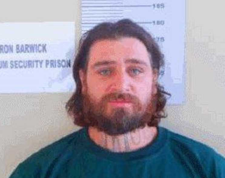 Most recent photo of escaped prisoner Graham John Enniss.