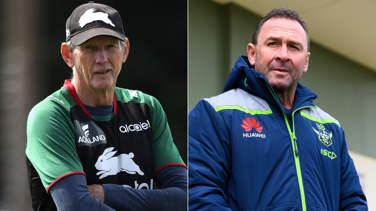 Wayne Bennett and Ricky Stuart have not spoken in a couple of years.