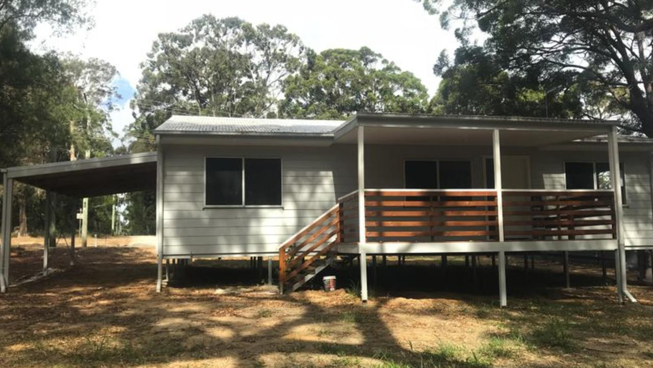 ENTRY LEVEL: This brand new house at 249 High Central Rd, Macleay Island is on the market through for $225,000. It has three bedrooms and is on 594sq m.
