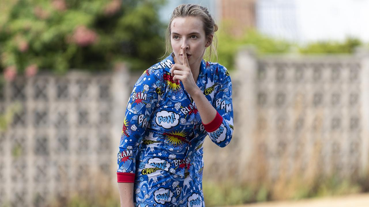 Jodie Comer won the Emmy for Lead Actress in a Drama. Picture: Aimee Spinks/BBC America