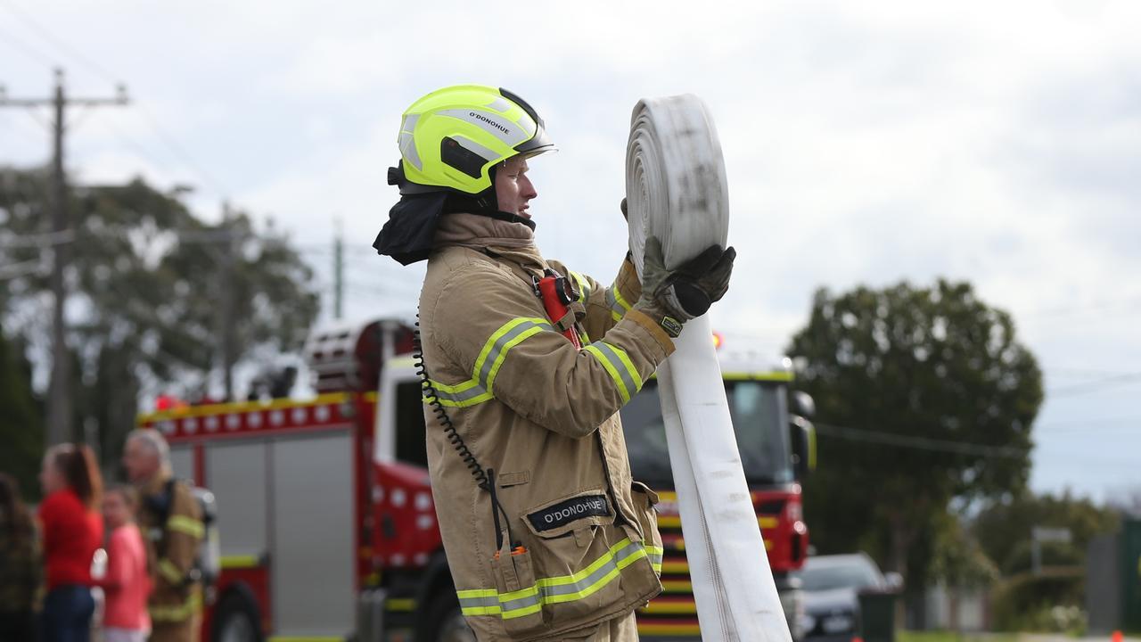 Generic house fire pics. Picture: Peter Ristevski