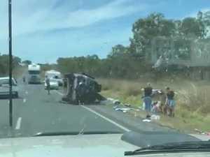 Carmila crash on the Bruce Highway