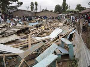 Kenya classroom collapse kills 7 children