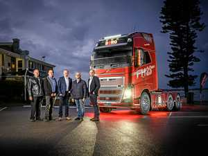 Borg brothers dedicate special Volvo FH16 to parents