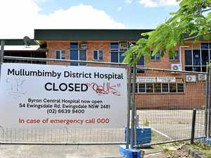 When will works at Mullumbimby hospital site be finished?