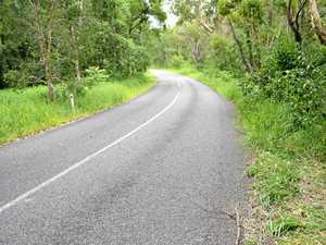 Rider hospitalised after motorbike crash at Cedar Pocket