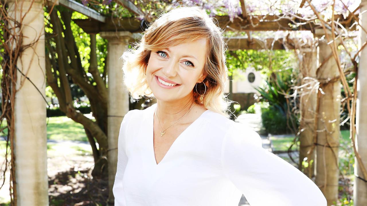 TV host Shelley Craft at a breakfast for Neutrogena.