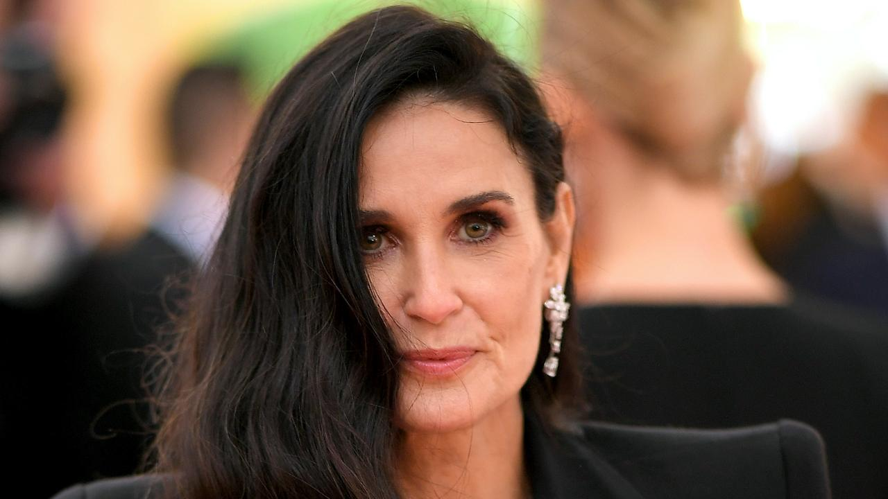 Demi Moore attends The 2019 Met Gala. Picture: Getty