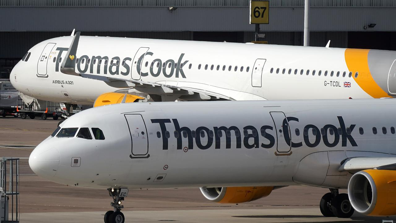 Thomas Cook collapsed on Monday after 178 years in operation. Picture: Christopher Furlong/Getty Images