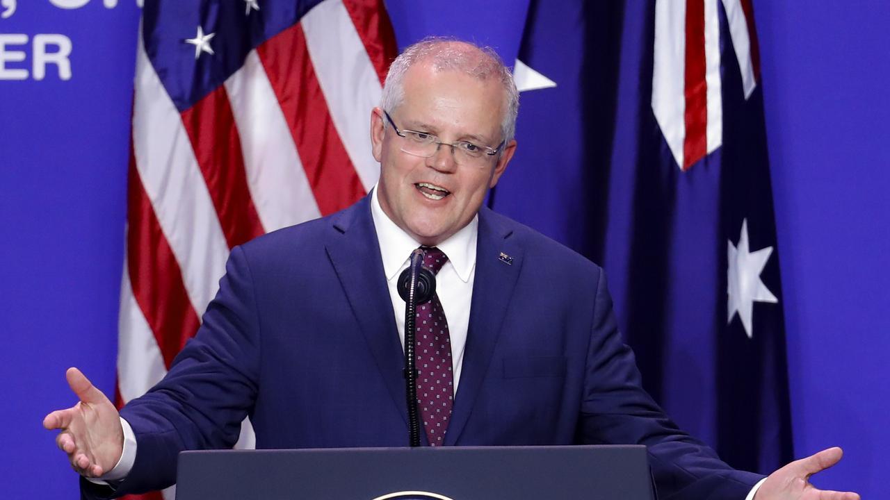 Australian Prime Minister Scott Morrison. Picture: AP
