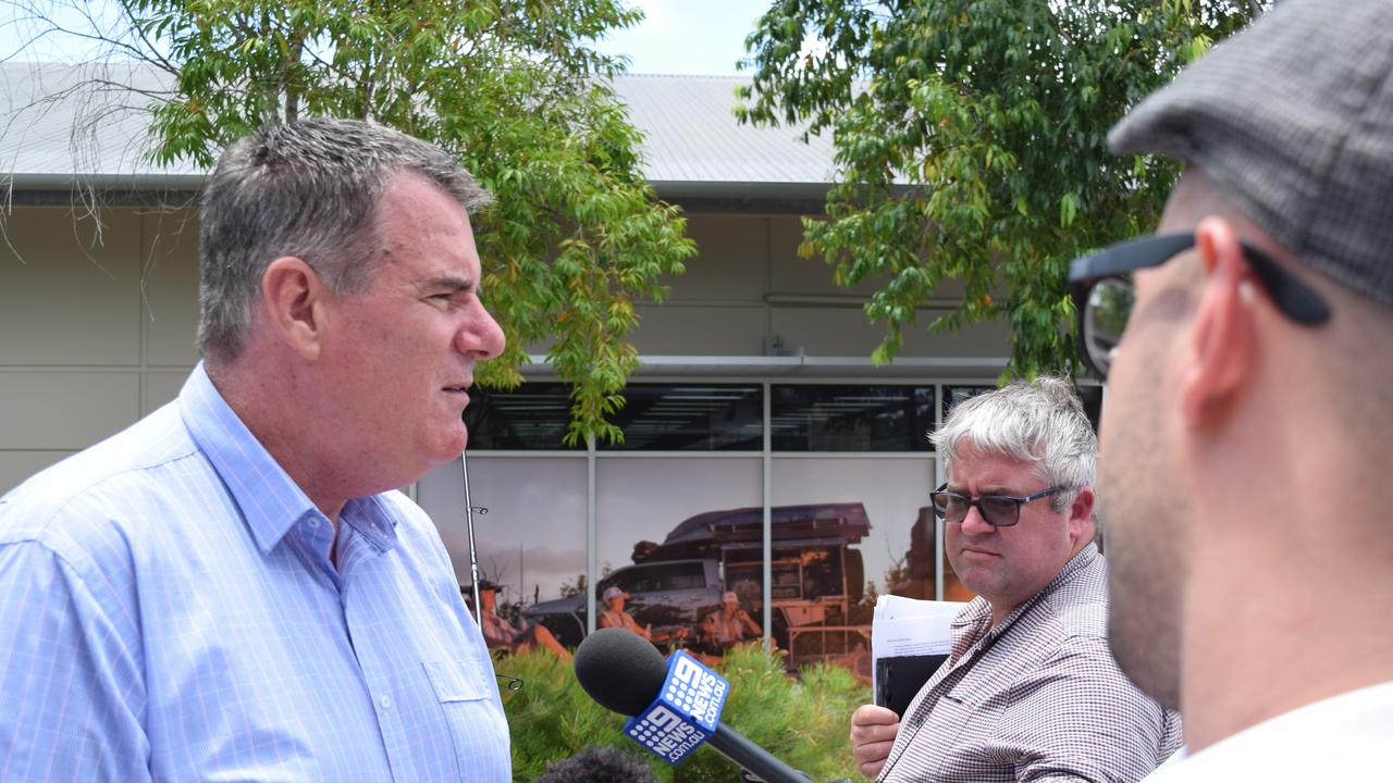 Fisheries Minister Mark Furner has spoken out about the decision to remove shark drum lines from the Great Barrier Reef Marine Park.