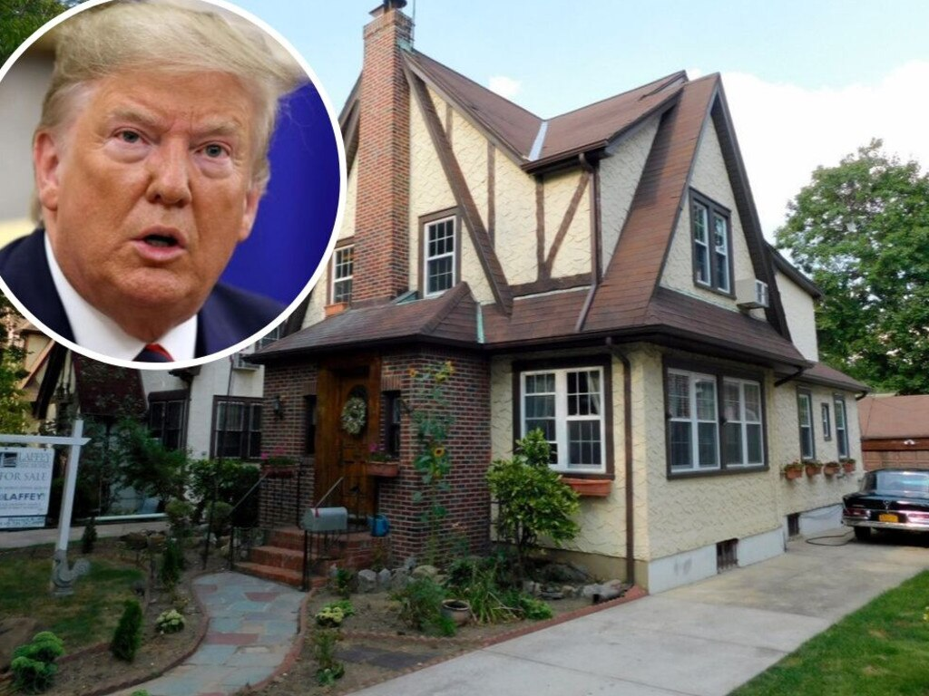 Why does no one want Donald Trump's childhood home? Picture: Realtor/Getty