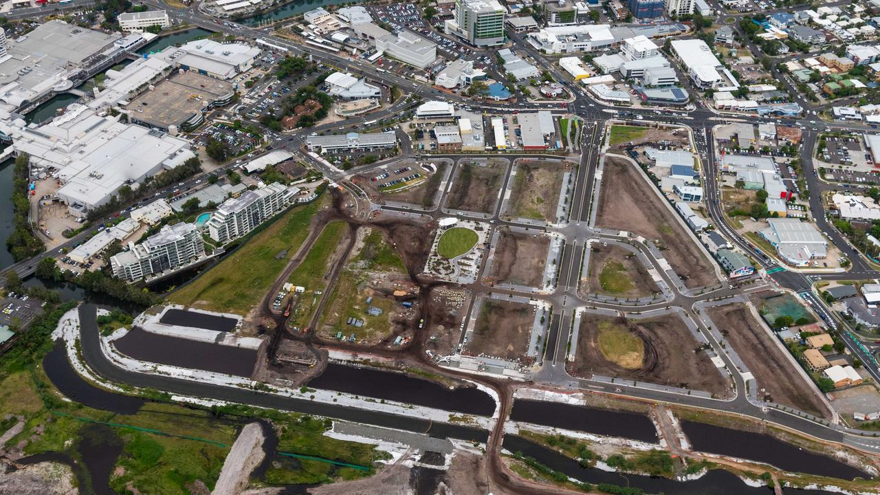 Work surges ahead of the new Maroochydore CBD. Photo: Contributed