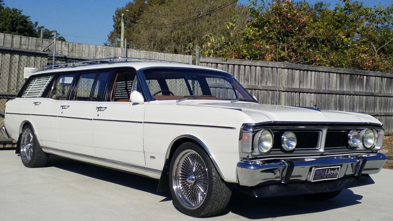 A rare six-seater Falcon is going under the hammer. Picture: Supplied.