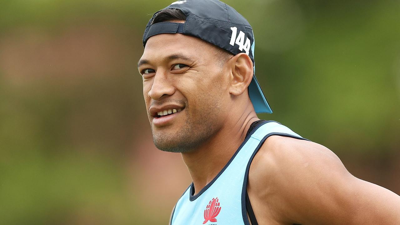 Folau's potential comeback has been divisive. Photo: Mark Metcalfe/Getty Images