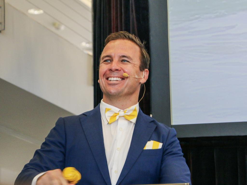 HAMMER TIME: Ray White Maroochydore principal and auctioneer Dan Sowden said it was the fifth annual auction, timed specifically for spring, and the agency's most successful yet.