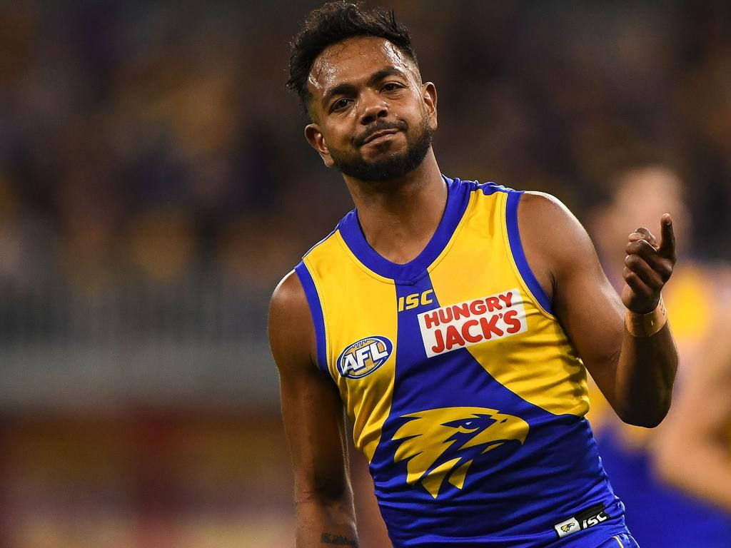 Willie Rioli may not take part in an AFL game in a long time.